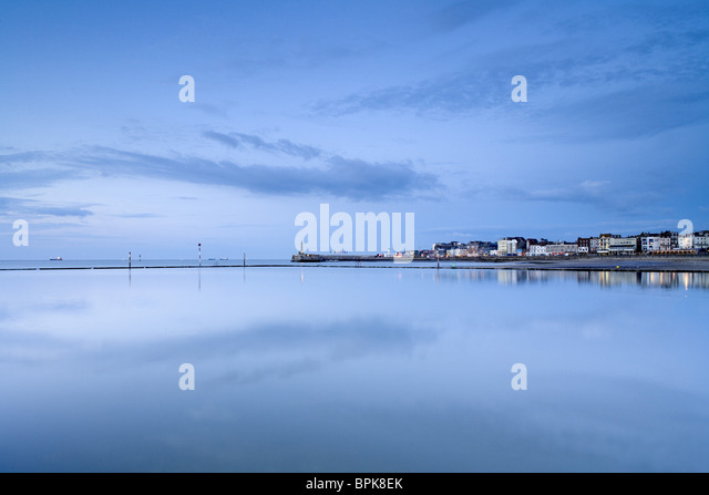 Seaside town of Margate, Kent, England, Great Britain, Europe - Stock Image