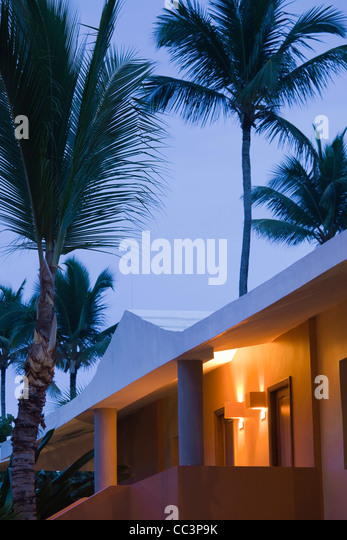 Dominican Republic, Punta Cana Region, Bavaro, Iberostar Bavaro Hotel - Stock-Bilder