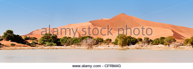 Sossusvlei, Namib-Naukluft Park, Namibia - Stock Image