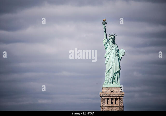 Statue Of Liberty, New York, America, USA - Stock Image