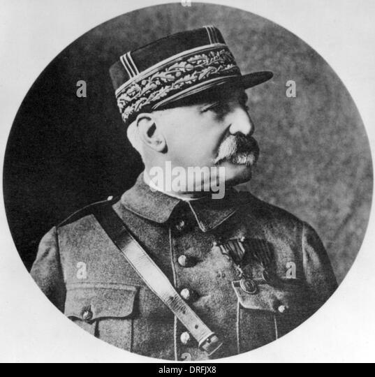 General Castelnau, French army general - Stock Image