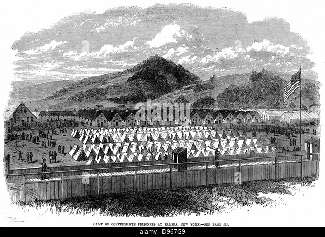 an analysis of the andersonville and elmira prisons during the american civil war Cahaba prison and the sultana disaster,  prisoner-of-war camps of andersonville, libby prison, elmira,  insightful analysis, he describes civil war prisons,.