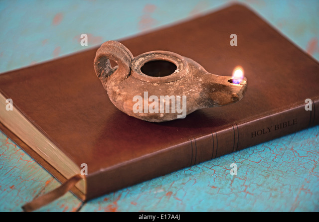 lamp and bible - photo #43