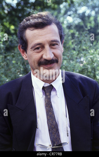 Leclerq, Patrick, 1950 - 15.1.2011, German journalist, portrait, 1990s, - Stock Image