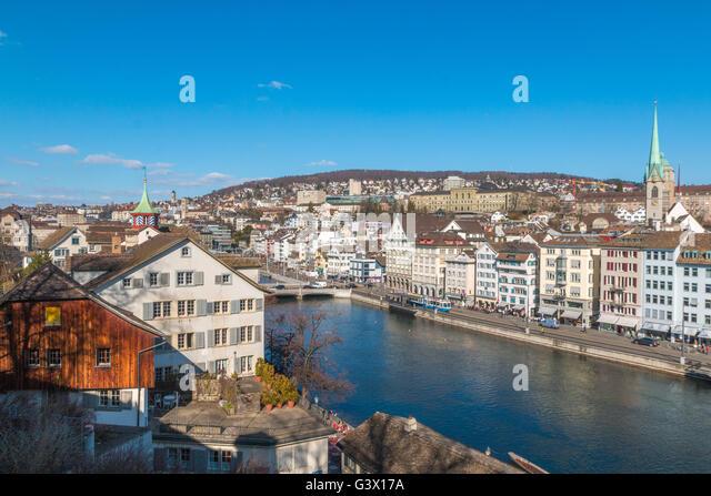 Zurich Switzerland - Stock Image