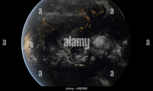 Typhoon Haiyan, 2013 - Stock Image