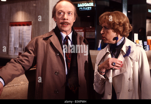 GEORGE AND MILDRED  UK Thames TV sitcom with Brian Murphy and Yootha Joyce which ran from 1976 to 1980 - Stock Image