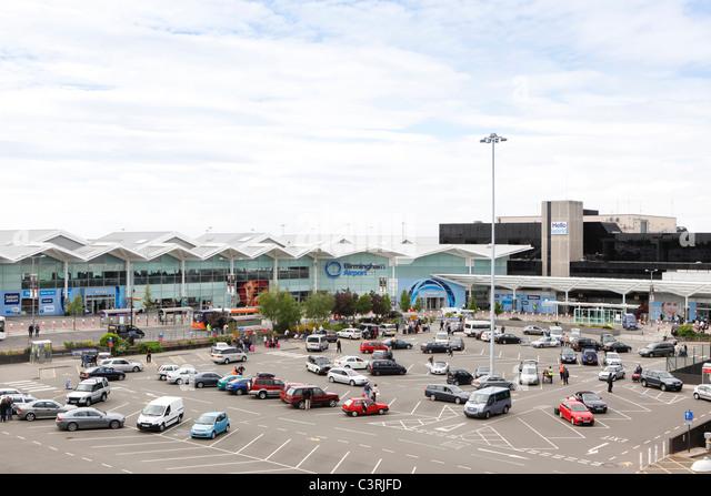 Birmingham Airport, England, UK - Stock-Bilder