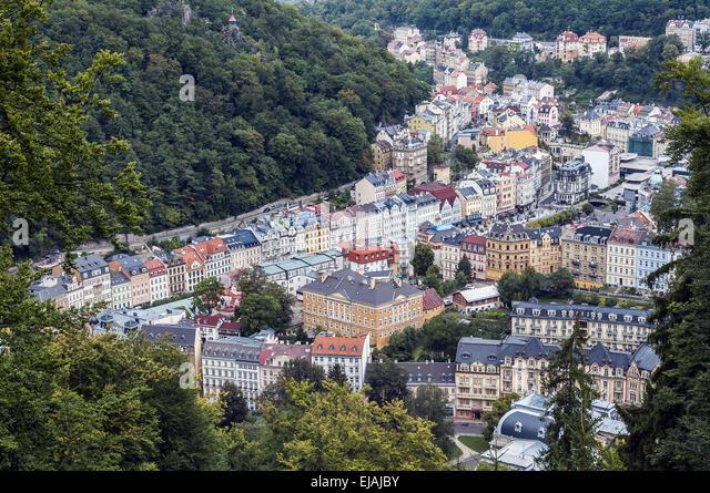 Karlovy Vary. - Stock-Bilder
