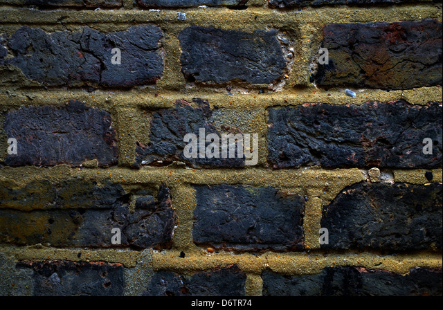 Background, brick wall ,texture - Stock Image