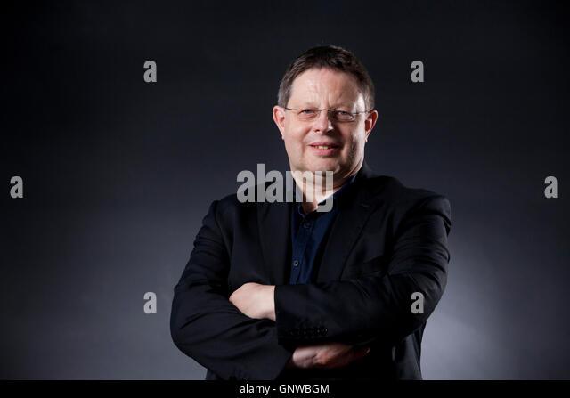 Iain Watson Political correspondent, BBC News, at the Edinburgh International Book Festival. Edinburgh, Scotland. - Stock Image