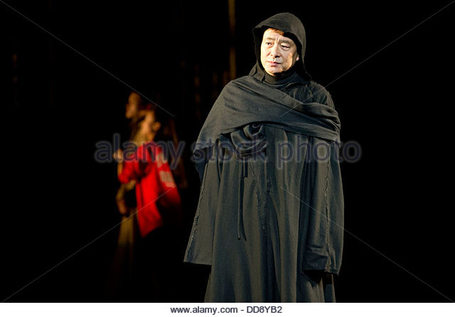 The Tragedy of Coriolanus by William Shakespeare translated by Ying Roucheng. Directed by Lin Zhaohua and Yi Liming - Stock Image