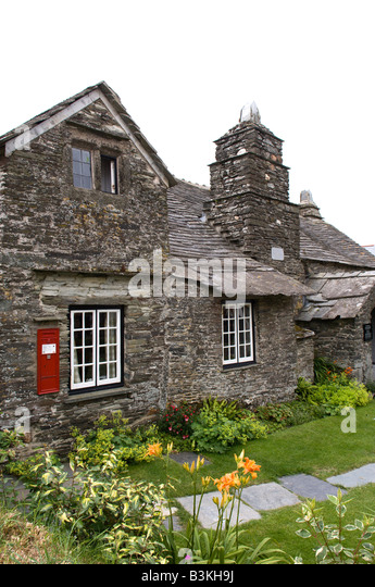 Old post office tintagel cornwall stock photos old post office tintagel cornwall stock images - Great britain post office ...