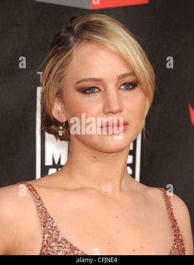 JENNIFER LAWRENCE  US film actress in January 2011.  Photo Jeffrey Mayer - Stock Image