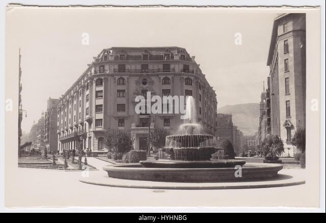 Hotel Carlton & Plaza Federico Moyúa, Bilbao, Spain - Stock Image