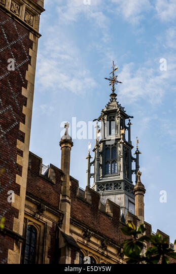 The Honourable Society of Lincoln's Inn is one of four Inns of Court in London to which barristers of England - Stock Image