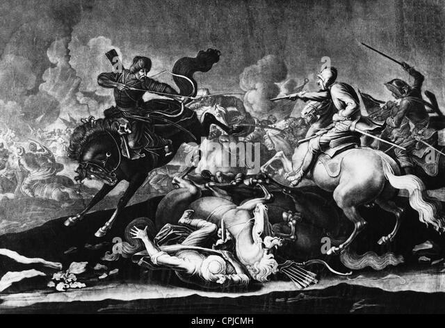 Turkish war, 1683 - Stock Image