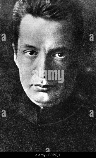 Alexander Kerensky the head of Russia s bourgeois provisional government in 1917 - Stock Image