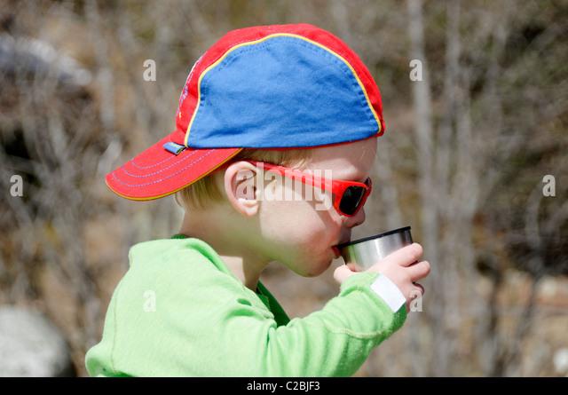 Hot Drink Flask Boy