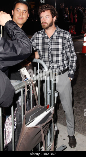 Danny Masterson Los Angeles Premiere of 'End Of Watch' at Regal Cinemas - Outside Los Angeles California - Stock Image
