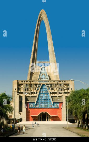 Dominican Republic, La Altagracia Province, Higuey, the Basilica - Stock-Bilder