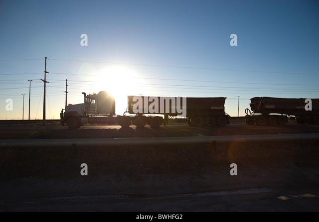 Prime mover Western Australia - Stock Image