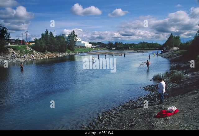 Fish derby stock photos fish derby stock images alamy for Salmon fishing anchorage