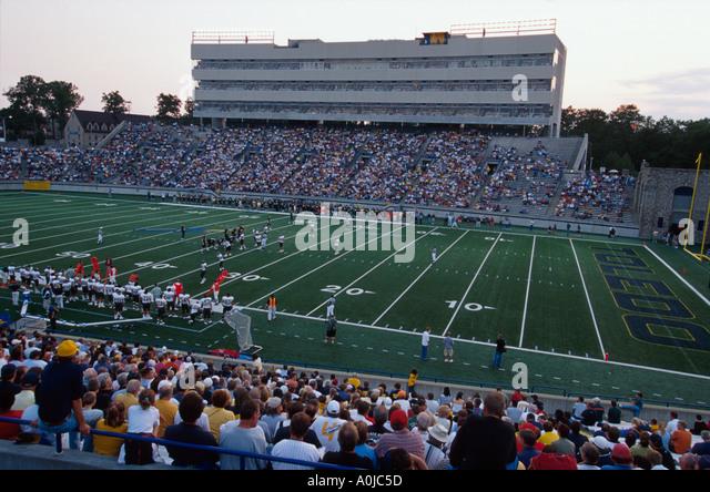 Ohio University of Toledo Glass Bowl Stadium college football game - Stock Image