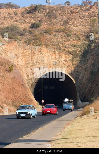 Pretoria Daspoort tunnel - Stock Image