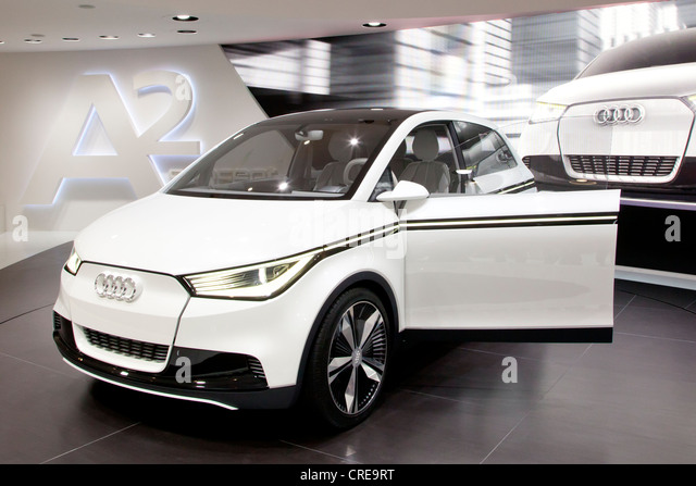 Study and world premiere of the Audi A2 concept, Audi AG, 64th International Motor Show, IAA, 2011, Frankfurt am - Stock Image