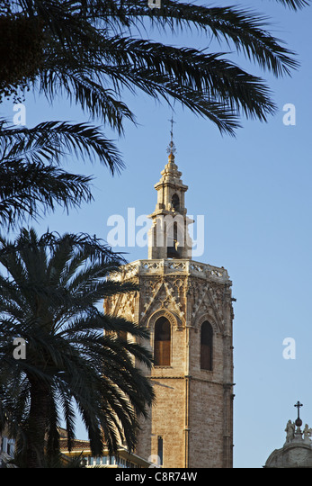 Cathedral, Valencia, Spain - Stock Image