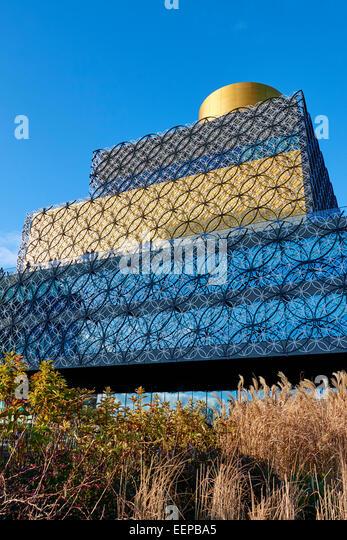 Library Of Birmingham By Architect Francine Houben Centenary Square Broad Street Birmingham West Midlands UK - Stock Image