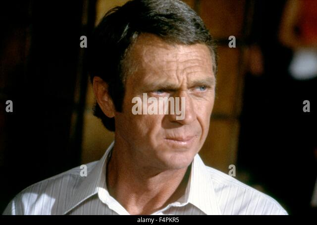 Steve McQueen / The Hunter / 1980 directed by Buzz Kulik [Paramount Pictures] - Stock Image