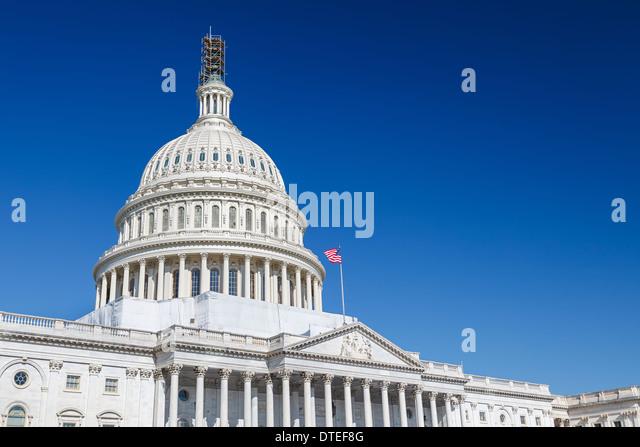 US Capitol, Washington DC - Stock Image