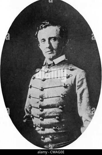 General George Custer as a West Point Cadet. 1800's. Courtesy CSU Archives/Everett Collection - Stock-Bilder
