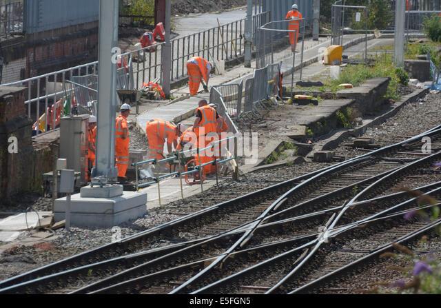train tracks and orange1 - photo #12