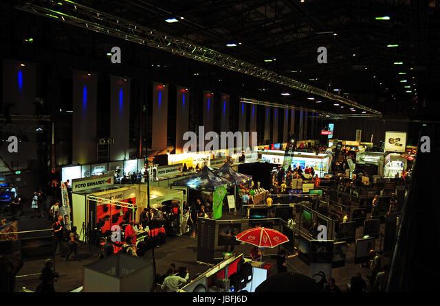 Photo + Adventure Messe Duisburg 2017 - Stock-Bilder