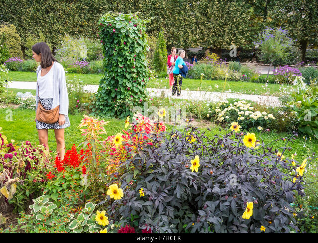 jardin des plantes Autumn Paris travel tourism - Stock-Bilder