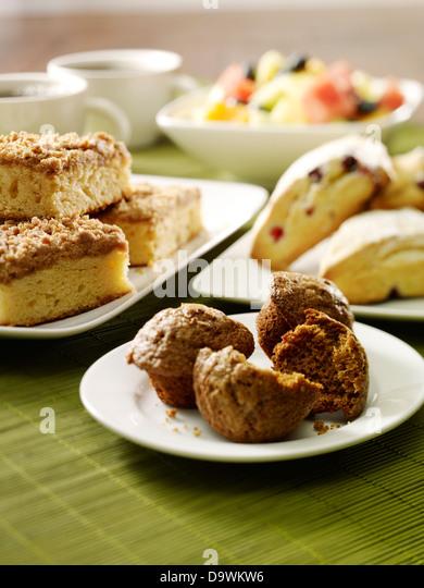pastries - Stock Image