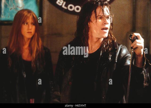 Rock Star (2001), Director: Stephen Herek, Actors/Stars: Mark Wahlberg, Jennifer Aniston, Dominic West,  Lead singer - Stock Image