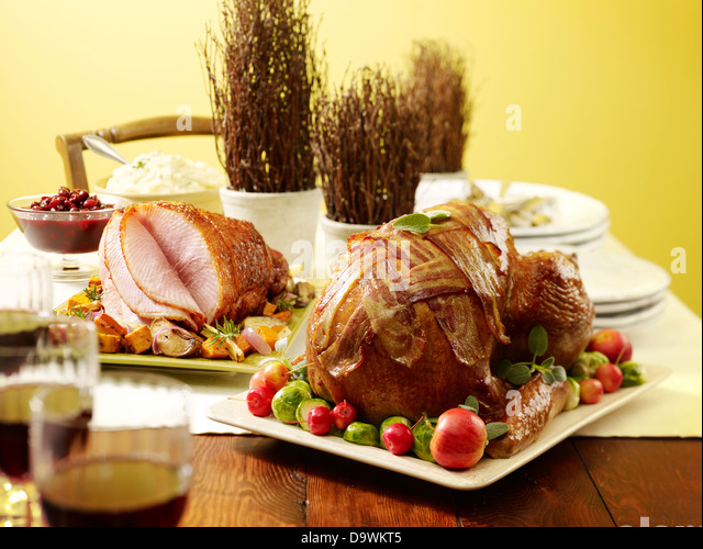 thanksgiving turkey - Stock Image