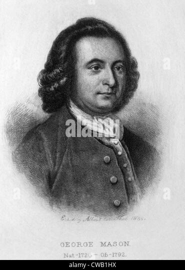 George Mason (1725-1792) - Stock Image