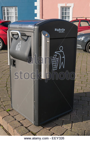 Recycling bin - Stock Image