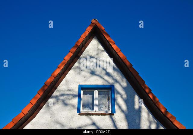 A house gable. - Stock-Bilder