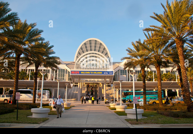 Orlando, Florida, Orange County Convention Center in the International Drive or I-Drive area - Stock Image
