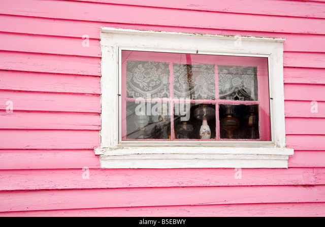 Antique store window, City of Leadville, Rocky Mountains, Colorado, USA, North America - Stock Image