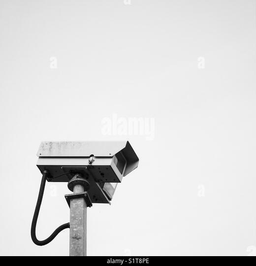 CCTV surveillance camera. - Stock Image