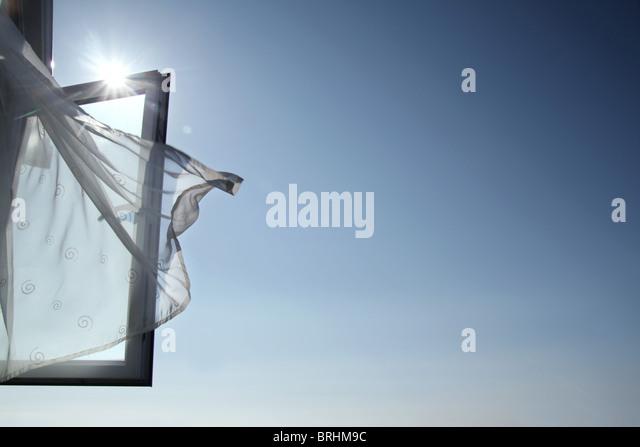 open window - Stock Image