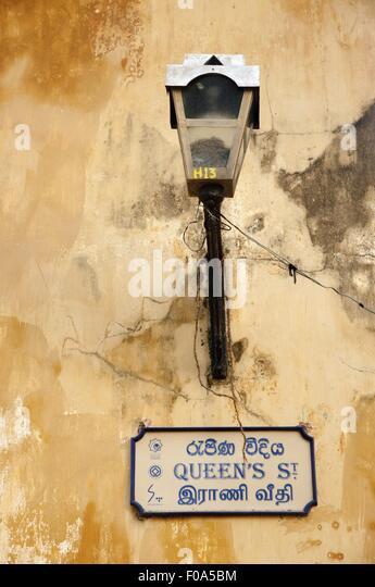 Wall Lamps In Sri Lanka : Road Sign Post Sri Lanka Stock Photos & Road Sign Post Sri Lanka Stock Images - Alamy