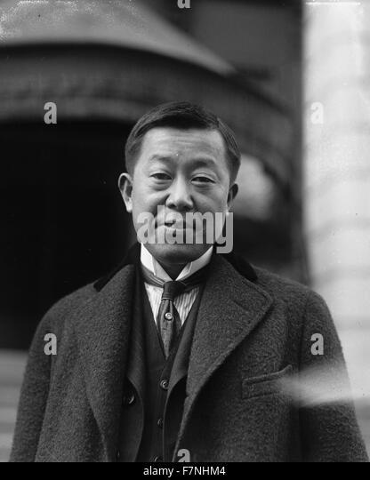 Masanao Hannihara, Vice Minister for Foreign Affairs of Japan since the illness of Baron Shidehara, head of the - Stock Image